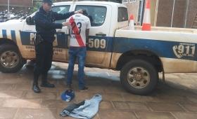 Detuvieron a un joven que robó varios objetos de una vivienda