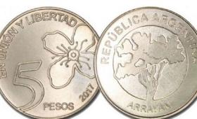Comenzaron a circular las monedas de $5 y se viene el lanzamiento de la de $10