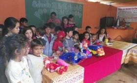 """El merendero """"Ellos no tienen la culpa"""" festejó el Día del Niño"""