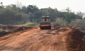 La EBY avanza en la conexión vial con Campo Bauer