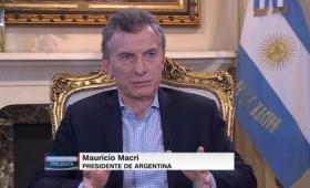 """Macri: """"Muchos dicen que no me conviene que Cristina vaya presa"""""""
