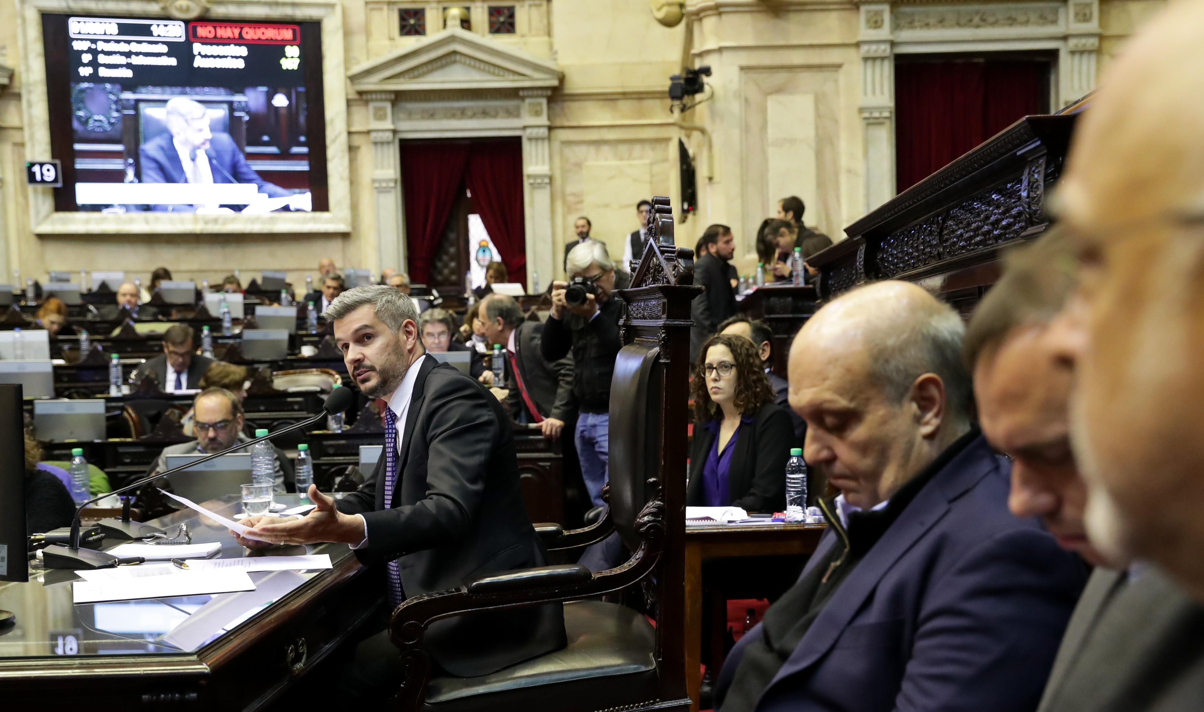 El Poder Ejecutivo expuso su informe de gestión ante Diputados