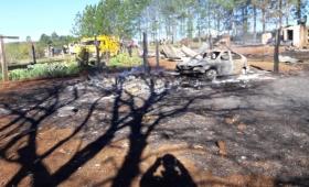 Pirómano detenido por incendiar la casa y el auto de su ex