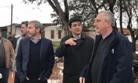 Frigerio busca un acuerdo político con la Renovación