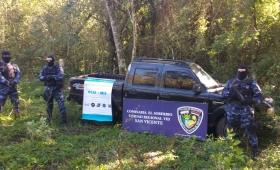 Secuestran camioneta acondicionada para el narcotráfico