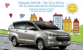 Toyota festeja el Día del Niño en la Cascada de la Costanera
