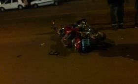 Octogenario falleció tras ser embestido por una moto