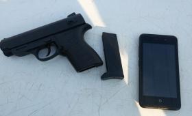 Adolescentes querían robar con un revolver de juguete