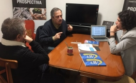 Duhalde, con Alfonsín, confirman una candidatura de Lavagna