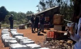 Crimen en Roca: secuestran casi dos toneladas de droga