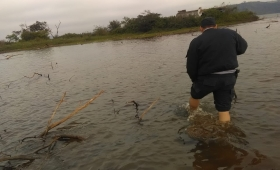 Hallaron el cuerpo de un menor en aguas del Paraná