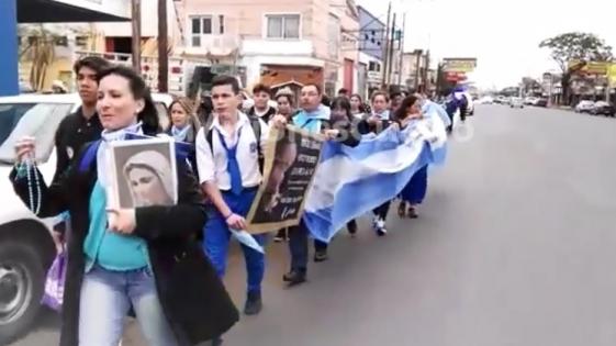 De la Catedral a Fátima contra el aborto legal