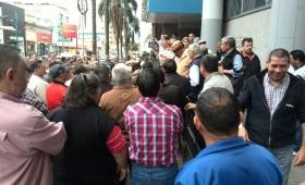 Retirados de la policía preparan una gran movilización