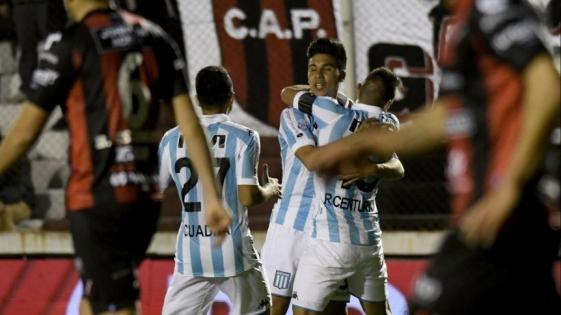 Racing goleó a Patronato en Paraná