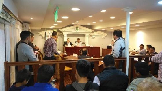 La justicia ordenó la restitución del Concejal Llamas