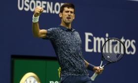 Novak Djokovic venció a Juan Martín Del Potro