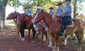 Movilizaron a más de 2 mil policías en toda la provincia