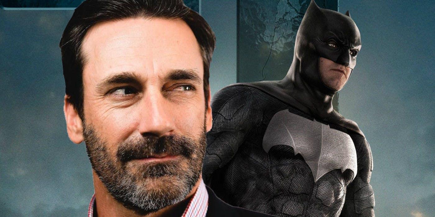 Jon Hamm está dispuesto a ser el próximo Batman