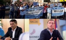 Agulla y Villalba, garantes de la precarización en Salud