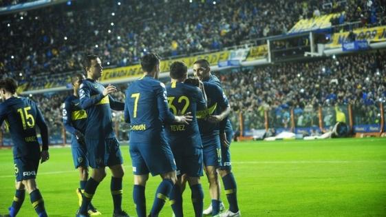 Boca goleó a Vélez en La Bombonera
