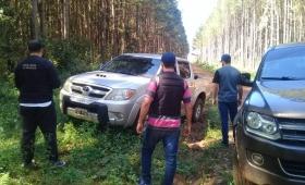 Capioví: secuestran otra camioneta narco