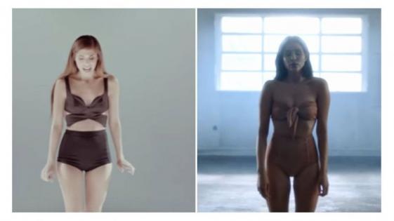 ¿Cande Tinelli copió este video de Christina Perri?