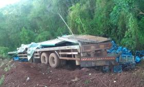 Despistó un camión en Ruta 17 y falleció el conductor