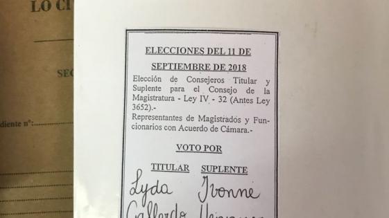 Elecciones irregulares y boletas truchas en la Justicia