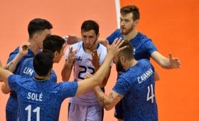 Vóley: Argentina se recuperó ante Dominicana
