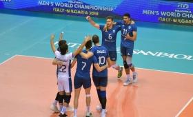Vóley: la selección perdió con Serbia y se quedó sin chances