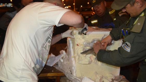 Narco encomiendas: secuestran 88 kilos de droga