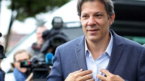 """Brasil: Haddad llamó """"nazi"""" a Bolsonaro"""