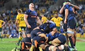 Históricos los Pumas derrotaron a Australia en su casa