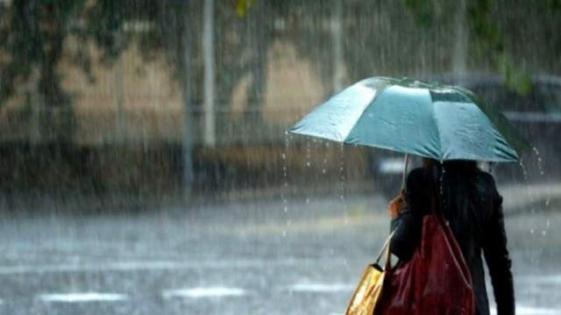 Domingo lluvioso en gran parte de la provincia