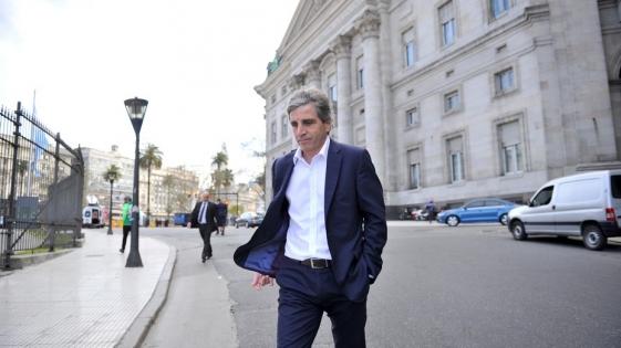 Renunció Luis Caputo a la presidencia del Central