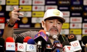 """""""Miré para arriba y creí que estaba en la cancha de Boca"""", dijo Maradona"""