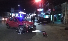 Murió un motociclista en Uruguay y Cabred