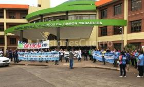 Paro Provincial de Salud: el reclamo salió a las calles