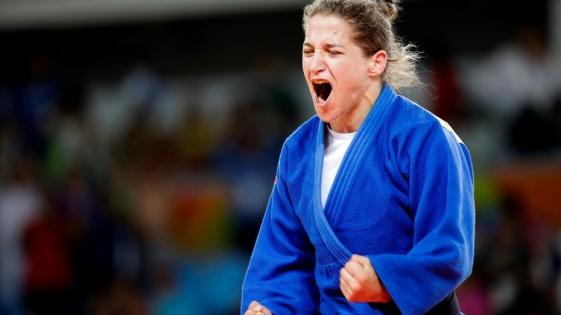Paula Pareto se subió al podio en el Mundial de Judo