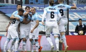 Racing derrotó a Central y es el nuevo líder de la Superliga