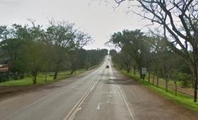 Peatón falleció sobre la Ruta Provincial 1