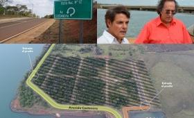 Investigan si un arrepentido pavimentó el country de Thomas