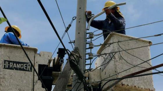 Temporal: algunas localidades continúan sin luz