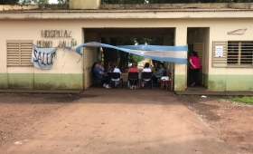 Hospitales Baliña y Carrillo, 14 semanas de paro