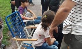 """Dos niños hospitalizados por un pit-bull """"que va a volver a atacar"""""""