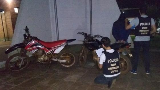 Un detenido y dos motos recuperadas