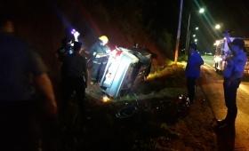 Hombre herido en un despiste en la ruta 14