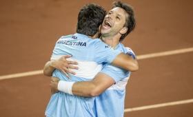 Copa Davis: el dobles argentino logró el punto del triunfo ante Colombia