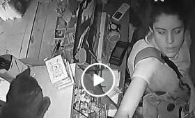 Detuvieron a la ladrona que había sido grabada