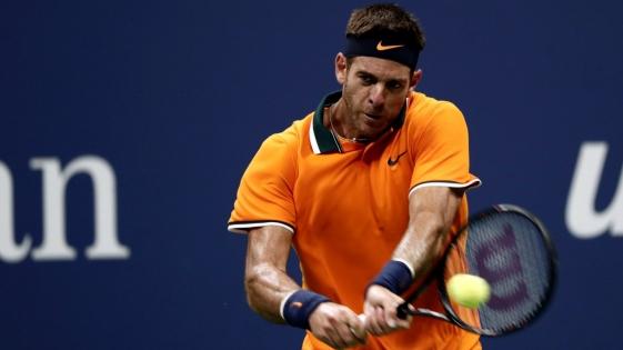 Del Potro venció a Isner y semifinalista del US Open